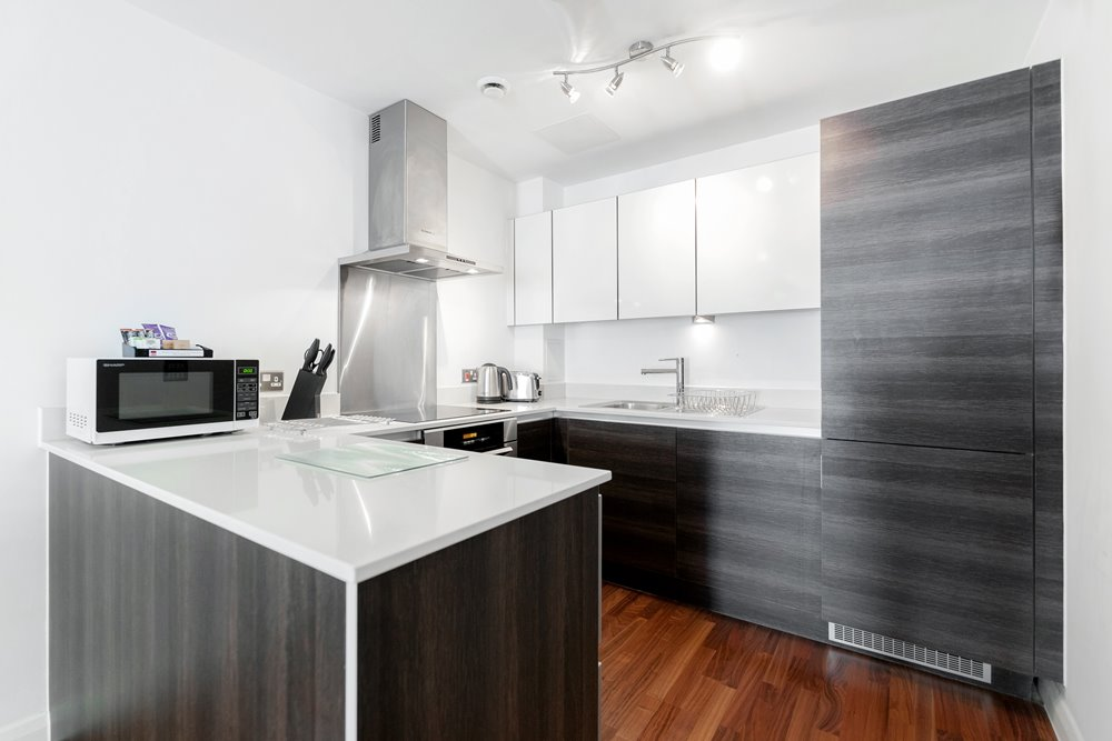 Modern kitchen at Chorus Apartment - Citybase Apartments