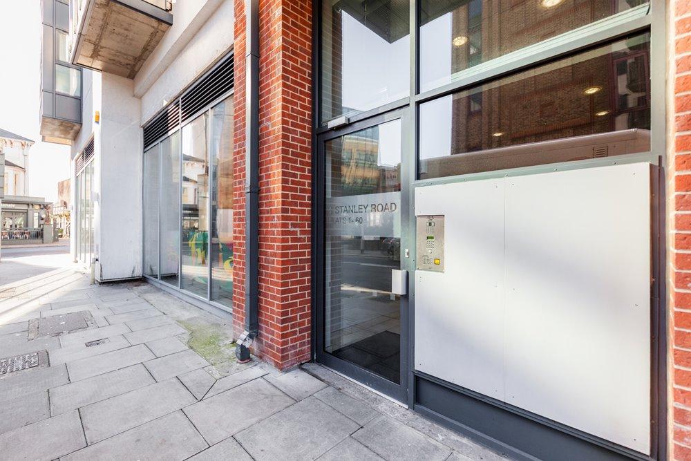Entrance at Chorus Apartment - Citybase Apartments