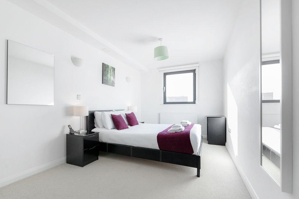 Bedroom at Chorus Apartment - Citybase Apartments