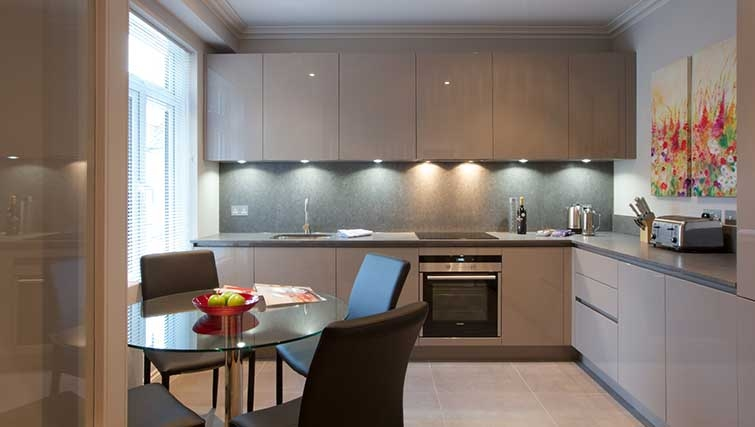 Kitchen at Flying Butler Hammersmith Apartments - Citybase Apartments
