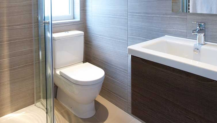 Bathroom at Flying Butler Hammersmith Apartments - Citybase Apartments
