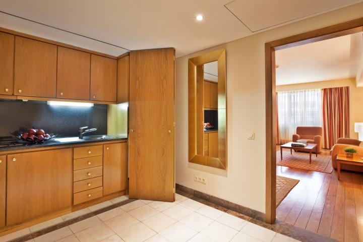 Kitchen at Altis Suites - Citybase Apartments