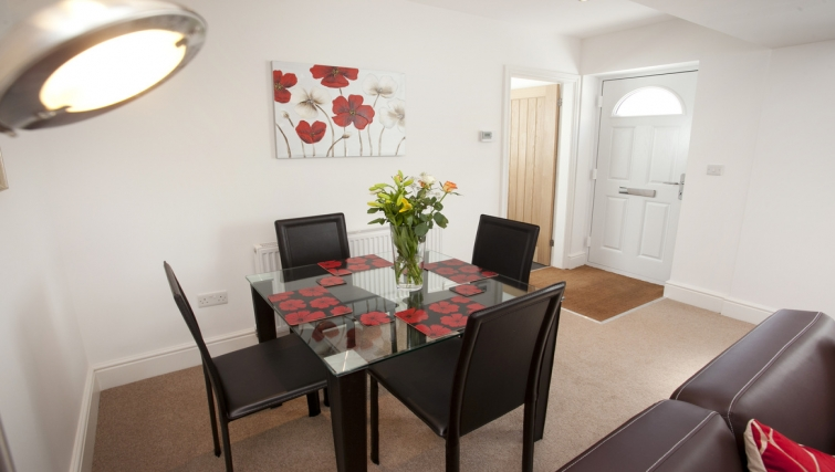Dining area at Musters Cottage - Citybase Apartments