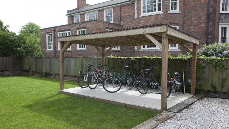 Bike area at Musters Cottage - Citybase Apartments