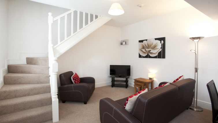 Stairs at Musters Cottage - Citybase Apartments
