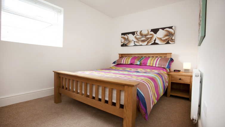 Bedroom at Musters Cottage - Citybase Apartments