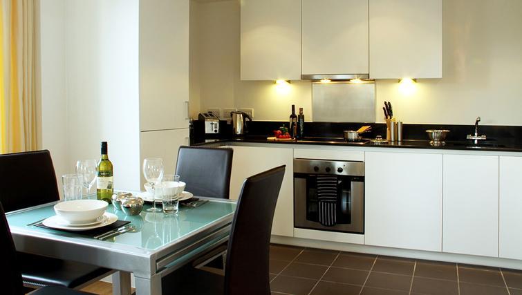 Kitchen at Phoenix Heights Apartments - Citybase Apartments