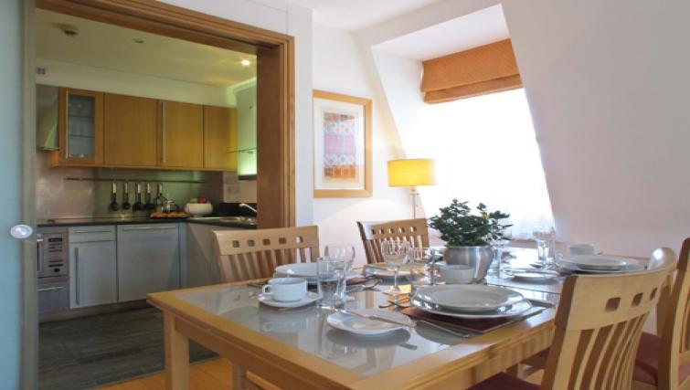 Kitchen at The Kings Wardrobe Apartments - Citybase Apartments