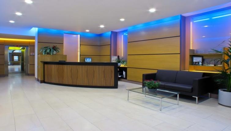 Lobby area at The Kings Wardrobe Apartments - Citybase Apartments