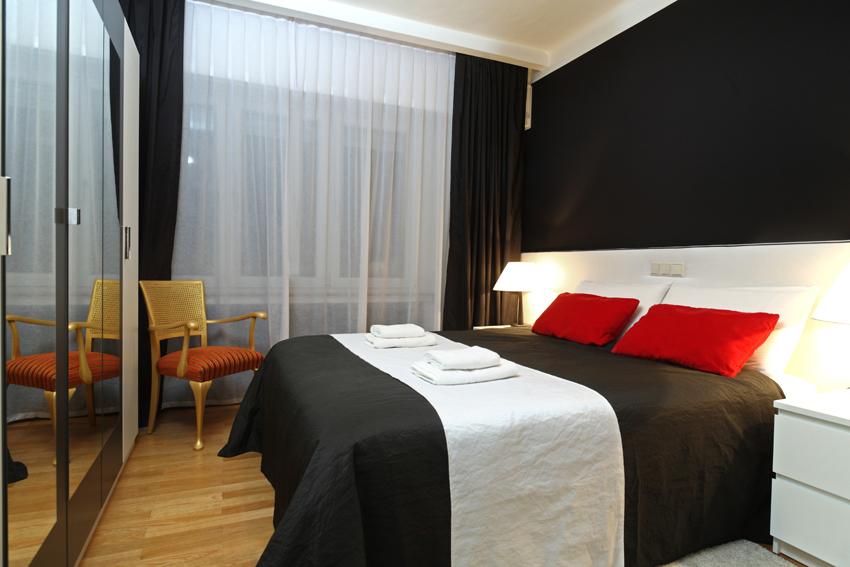 Bedroom at Villa Giada Apartments - Citybase Apartments