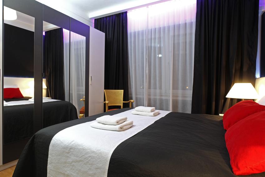 Modern bedroom at Villa Giada Apartments - Citybase Apartments