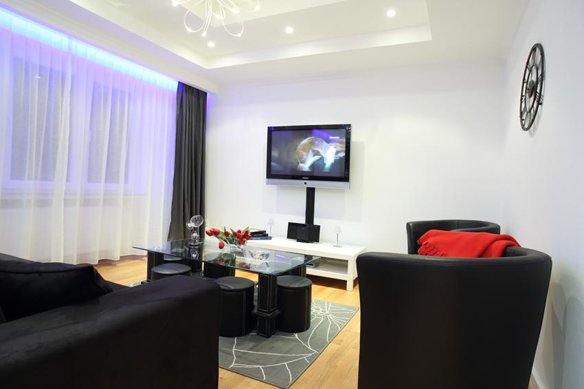 Living room at Villa Giada Apartments - Citybase Apartments