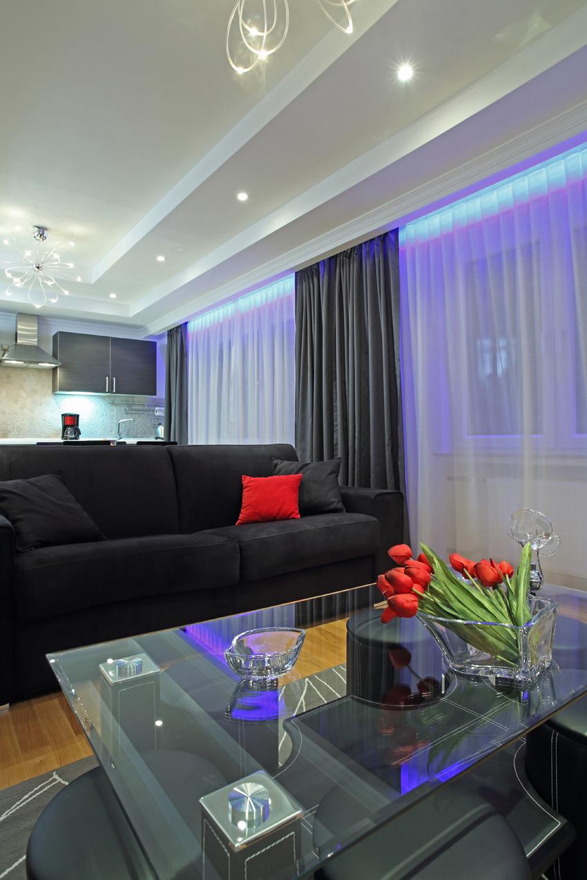 Sofa at Villa Giada Apartments - Citybase Apartments