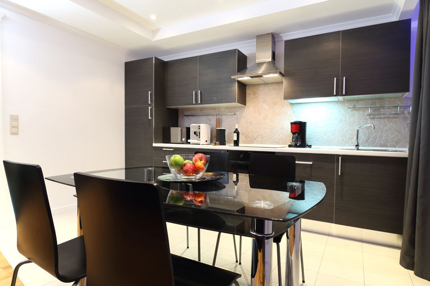 Kitchen at Villa Giada Apartments - Citybase Apartments