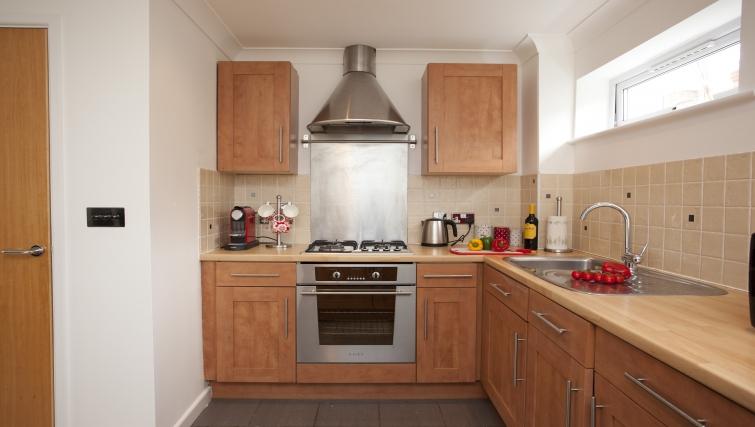 Kitchen at Cricket Heaven Apartment - Citybase Apartments