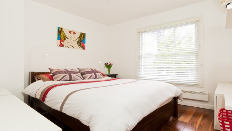 Double bedroom at Marylebone Apartments - Citybase Apartments