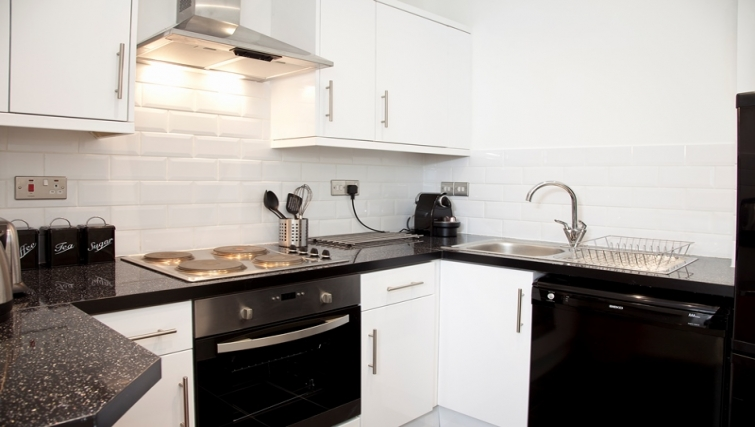 Kitchen at Marylebone Apartments - Citybase Apartments