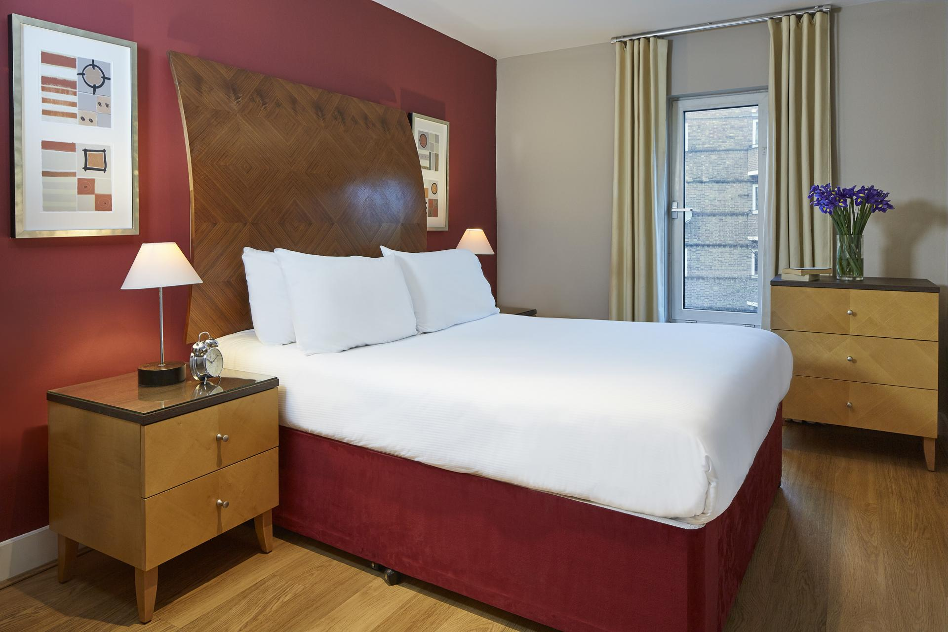 Bed at Empire Square Apartments, London Bridge, London - Citybase Apartments
