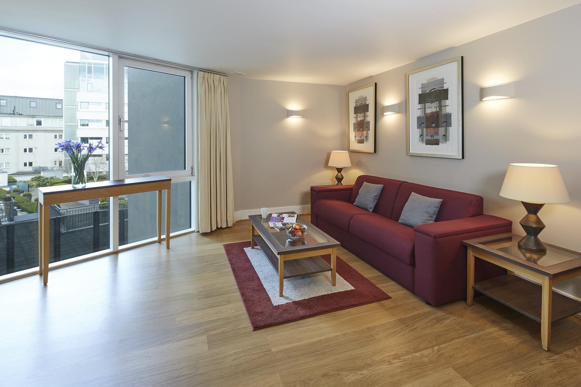 Sofa at Empire Square Apartments, London Bridge, London - Citybase Apartments