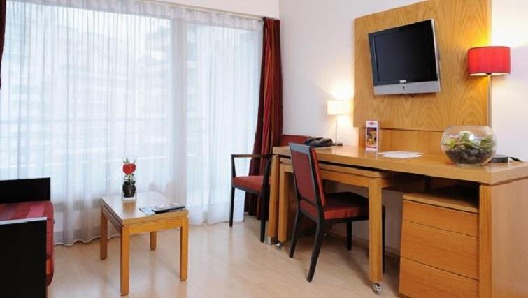 Practical living area in Residhome Parc du Millenaire Apartments - Citybase Apartments