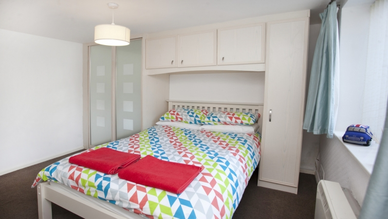 Double bedroom at Cafe Culture Apartments - Citybase Apartments