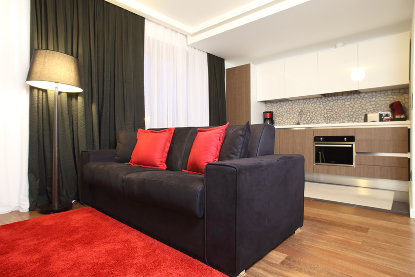 Lounge area at Villa Medici Apartments - Citybase Apartments