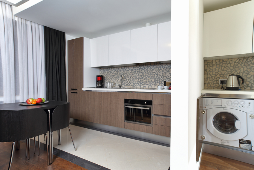 Kitchen facilities at Villa Medici Apartments - Citybase Apartments