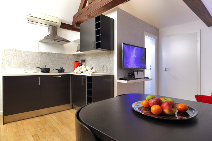 Kitchen at Villa Medici Apartments - Citybase Apartments