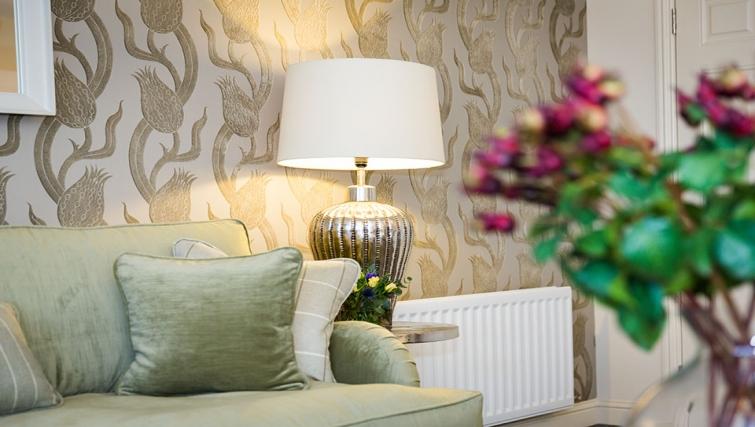 Sofa at Charleston Apartments - Citybase Apartments