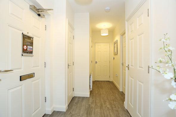 Hallway at Charleston Apartments - Citybase Apartments