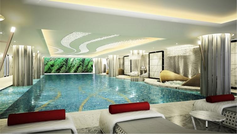 Swimming pool at Ascott Heng Shan Apartments - Citybase Apartments