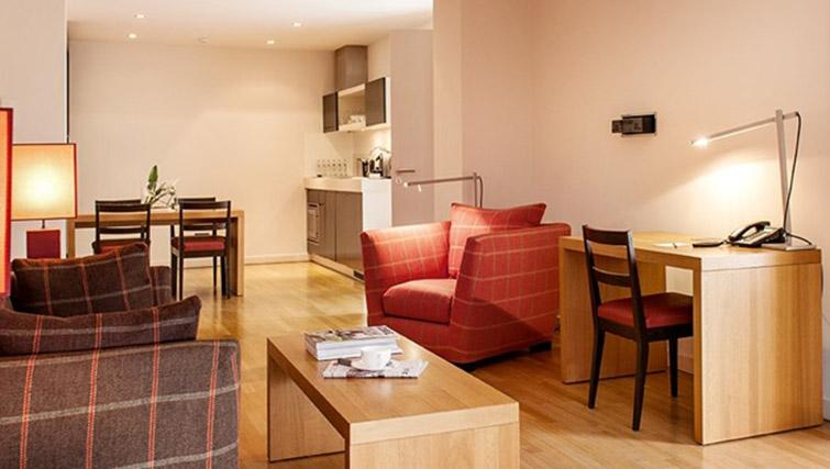 Living space at Clipper Elb Lodge - Citybase Apartments