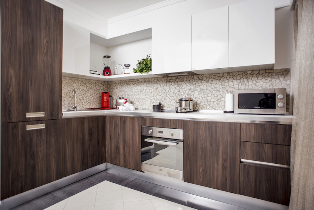 Kitchen at Villa Carlotta Apartments - Citybase Apartments