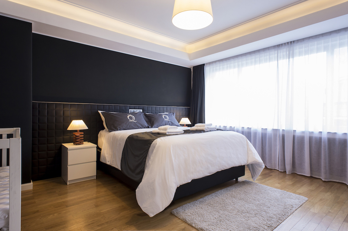 Bedroom at Villa Carlotta Apartments - Citybase Apartments