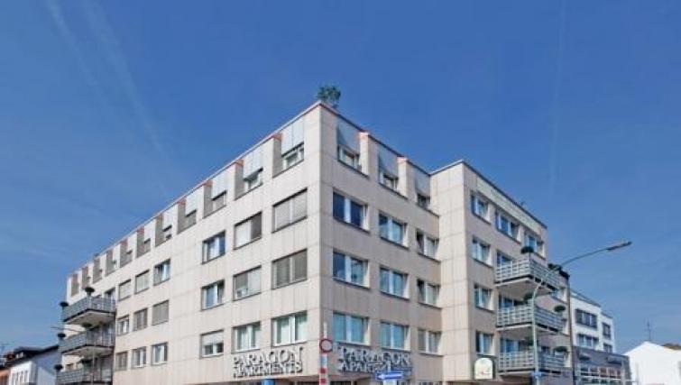 Exterior of Schwarzwaldstrasse Apartment - Citybase Apartments