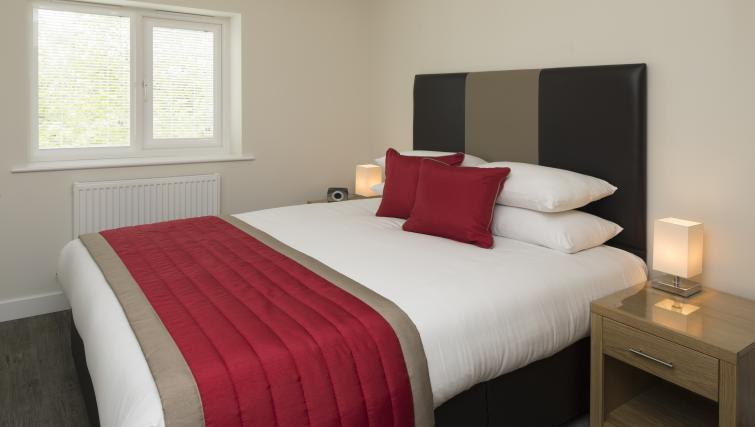Bedroom at Beneficial House Apartments - Citybase Apartments