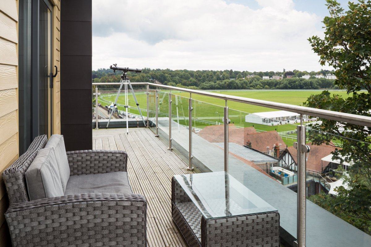 Balcony at Roomzzz Chester City Apartments - Citybase Apartments