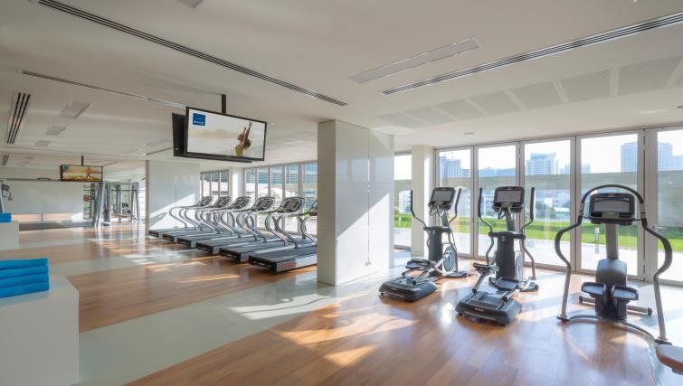 Gym at Adagio Abu Dhabi Al Bustan - Citybase Apartments