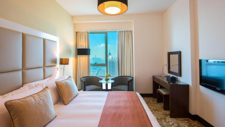 Ideal bedroom at Fraser Suites Dubai - Citybase Apartments