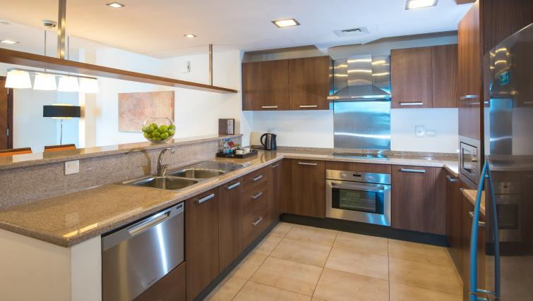 Equipped kitchen at Fraser Suites Dubai - Citybase Apartments