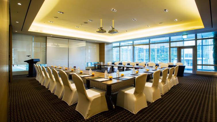Meeting room at Marriott Executive Apartments Yeouido Park Centre - Seoul - Citybase Apartments