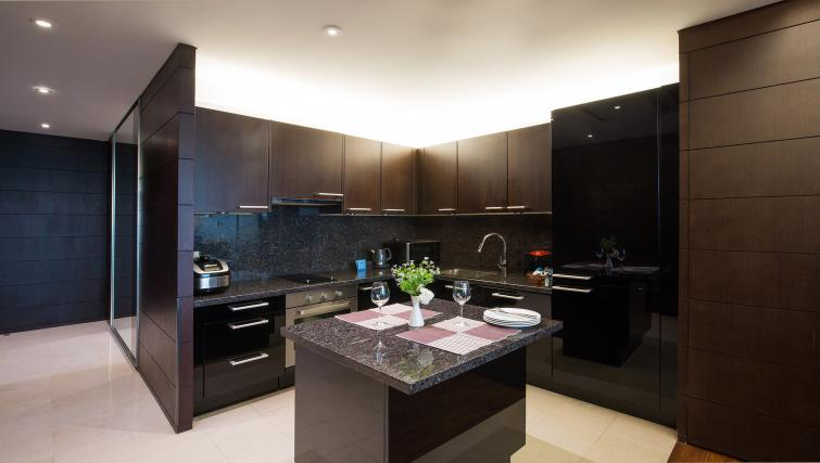 Kitchen at Marriott Executive Apartments Yeouido Park Centre - Seoul - Citybase Apartments