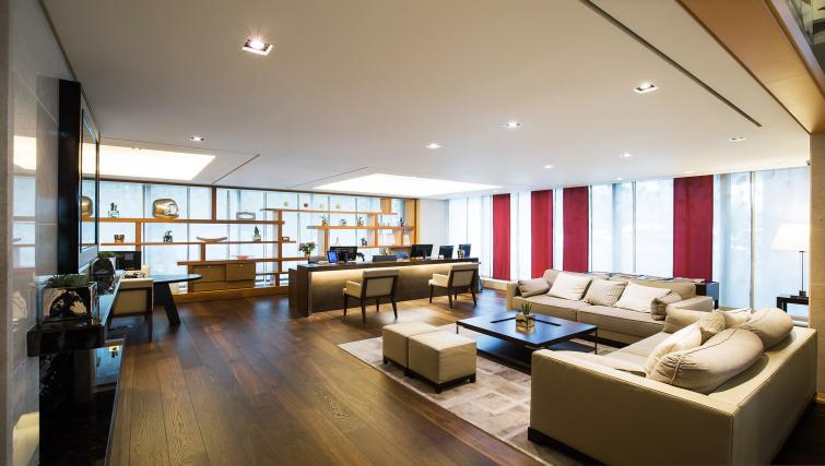 Lobby at Marriott Executive Apartments Yeouido Park Centre - Seoul - Citybase Apartments