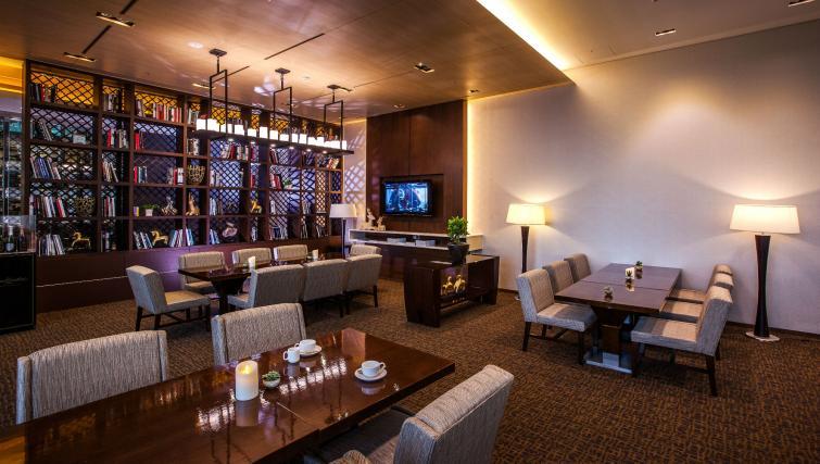 Bar at Marriott Executive Apartments Yeouido Park Centre - Seoul - Citybase Apartments