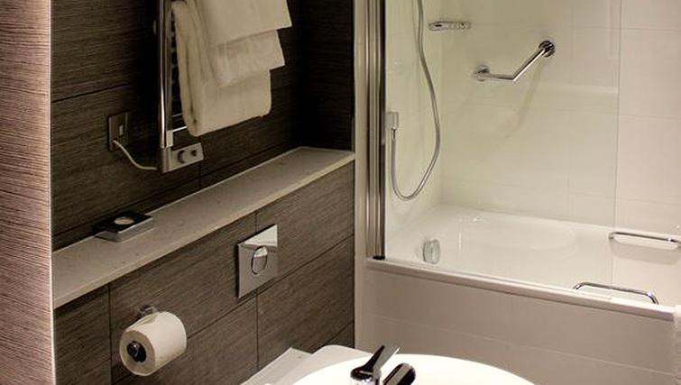 Bathroom at 91 Aparthotel Jesmond Road - Citybase Apartments
