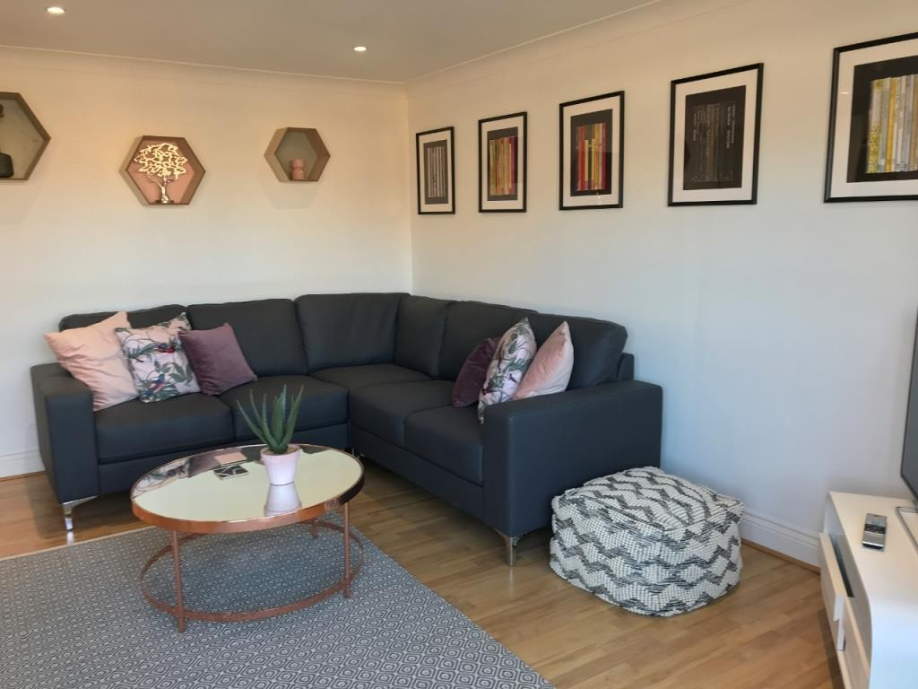 Sofa at St Andrew Square Apartments - Citybase Apartments