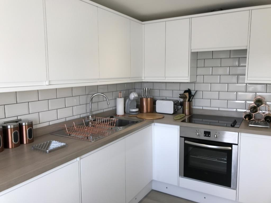 Kitchen facilities at St Andrew Square Apartments - Citybase Apartments