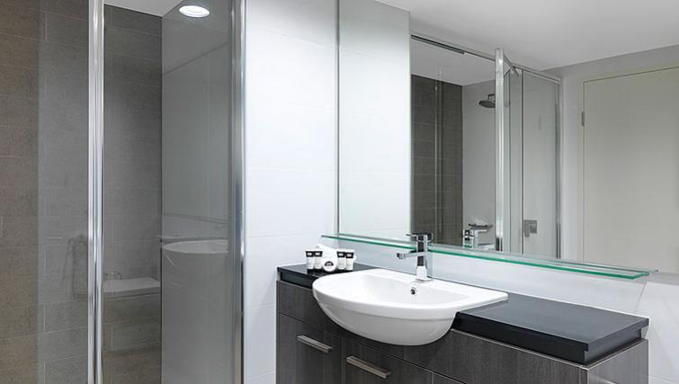 Bathroom at Adina Apartment Hotel Sydney Airport - Citybase Apartments