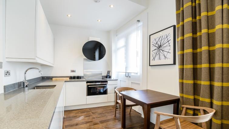 Kitchen at Native St Pauls Apartments - Citybase Apartments