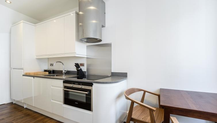 Modern kitchen at Native St Pauls Apartments - Citybase Apartments